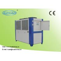 China 3~45HP Air Cooled Water Chiller Use For Injection Machine Industrial Use wholesale