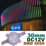 China 30mm DC12V RGB LED Pixel Module Full Color For Building Decoration wholesale