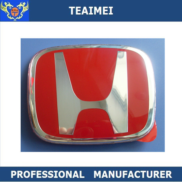 Epoxy Resin / Chrome 3D Custom Car Emblems Honda Logos 92*75mm