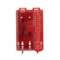 China OEM Design Group Loto Box Combination Wall Mounted Group Lockout Box Tagout on sale