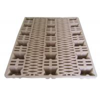 China Eco - Friendly Waste Paper Pulp Pallet Molded Single Faced Style wholesale