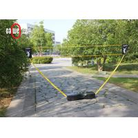 China Easy Set Up 3 In 1 Sports Set , Sturdy Camping Tennis Badminton Volleyball Set wholesale