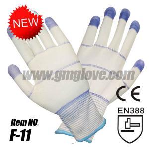 China PU coated Anti Static Cleanroom Gloves on sale