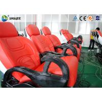China 6 Dof Mobile Theater Chair , 4d Cinema Custom Motion Control System wholesale