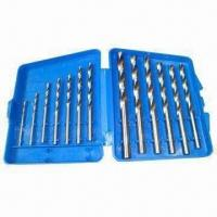 China HSS Twist Drill Bit Set, Various Sizes and Packaging Ways are Available wholesale