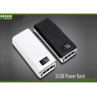 China 3 USB LCD Display Power Bank Flashlight 8000mAh For Mobile Phones wholesale
