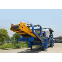 China High Performance Mobile Portable Crusher Plant Track Mounted Jaw Crusher on sale