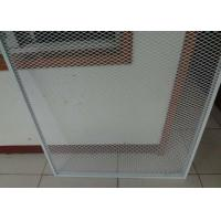 China 2mm Thickness Expanded Metal Mesh Guard  Powder Coated  96inch * 27ft For Window or Door wholesale