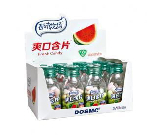 Buy cheap Конфета планшета витамина К сахара рождества свободная с вкусом арбуза/мяты from wholesalers
