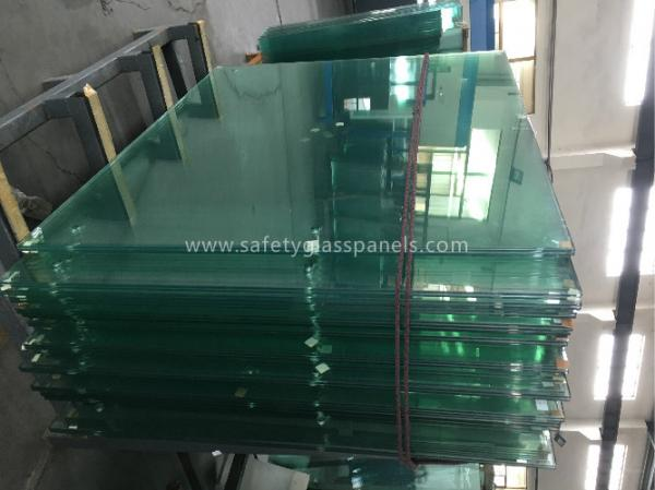 Quality 8mm Thick Heat Treating Tempered Safety Glass Window And Door for sale