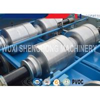 China Colored Glaze Steel 760 Roofing Sheet Roll Forming Machine Easy Installation wholesale