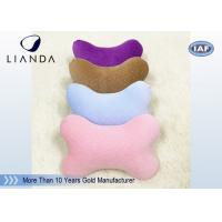 Buy cheap Cute Memory Foam Pillows for Cervical Spine Protection , colorful Car Neck Rest Pillow from wholesalers