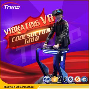 China Similar Earthquake Vibrating VR Simulator , One Player Mini 9D Vr Cinema wholesale