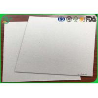 China Notebook Covers Fluting Medium Paper , 300Gsm - 700gsm Grey Back Duplex Board wholesale