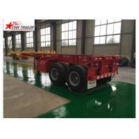 China Skeleton Terminal Shipping Container Chassis wholesale