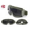 China Vidrios tácticos Z87 de la resistencia de la PC de las lentes de la seguridad militar de alto impacto de las gafas wholesale