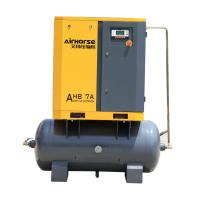 China 15kw 8 Bar Low Noise Industrial Used Screw Type10hp Air Compressor Prices with Air Tank wholesale