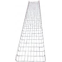 China Industrial electrical flexible wave steel basket wire mesh trays system, 450*50mm wholesale