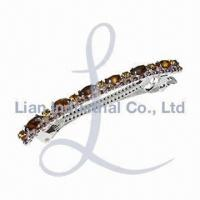 China Metal Hair Clip, Different Sizes are Available wholesale