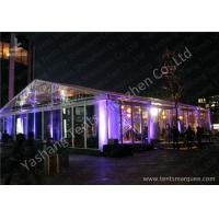 China 15x20M Transparent Cover Outdoor Party Tents Hard Extruded Aluminum Alloy wholesale
