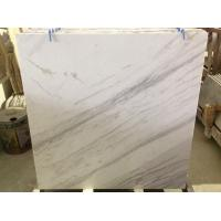 China Greece Volakas White Marble white marble with Black Veins Polished tiles from China on sale