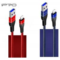 China 1M Jeans Cloth Leather Micro USB Mobile Charger USB Cable For Samsung Huawei Xiaomi In Flat Retail Packing on sale