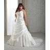China Spaghetti Strap Plus Size Bridal Gown wholesale