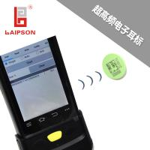 China Livestock Animal Sheep UHF Ear Tag Temperature Resistance Laser Printing on sale