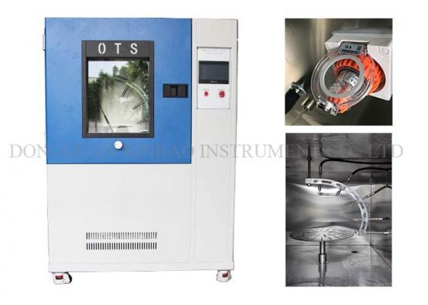 Quality Rain Spray Climatic Test Chamber Spray Pressure In 80KPa - 100KPa DIN40050 for sale