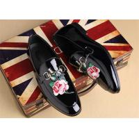 China Handmade Comfortable Leather Loafer Shoes For Mens Moccasins Normal Toe wholesale