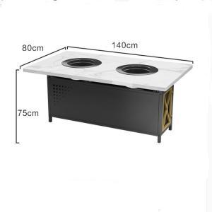 China Smokeless Hot Pot Table wholesale