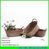China LUDA custom decorative home colored weaving baskets storage bins wholesale