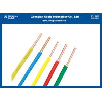 China Light Weight PVC Insulated Building Wire And Cable Single Solid Core Design wholesale