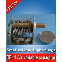 China CB-1 Air variable capacitor for radio transmitter High Voltage 13-135pF/ 1KV- Amplifier wholesale