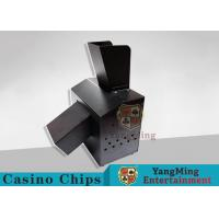 Buy cheap Black Automatic Casino Game Accessories For Cutting Off Broken Poker Cards from wholesalers