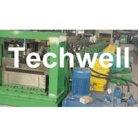 China High Speed 0 - 10m/min Cable Tray Forming Machine With IP55Motor Protection wholesale