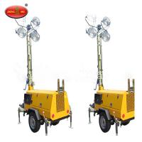 China QLT M10 Mobile Vehicle Mounted Diesel Tower Light wholesale