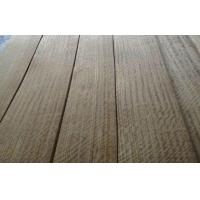 China African Teak Figured Quarter Cut Veneer With Mineral Lineation wholesale