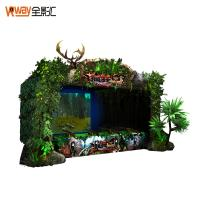 China 4D Crazy Motion Sensing Games Hunting Game Simulator Multiple Player Support wholesale