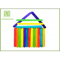 China Healthy Fancy Wooden Craft Sticks Education Tools With Hot Stamping Logo on sale