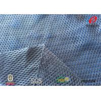 China Breathable Sportswear Mesh Fabric , 100 Polyester Jersey Mesh Fabric Durable on sale