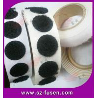 Nylon And Polyester Velcro Self Adhesive Dots / Velcro Loop Tape For Hat