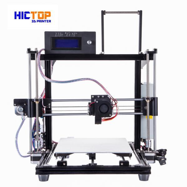 Quality Auto Leveling 3d printers desktop PLA / ABS / WOOD Flexible in Black for sale