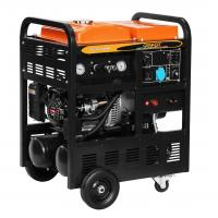 China 130A Gasoline Compressor Welder Generator 22 - 26V Welder Volt 170FB Engine wholesale