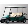 China carro de golf eléctrico de 48V 6 Seater con el chasis de aluminio para el transporte wholesale