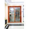 China 80 series aluminum sliding window double glazing doors inside doors wholesale