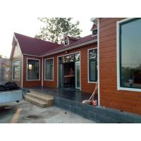 China Hop Dip Galvanized Cabin Container House , Steel Shipping Container Homes With Window on sale