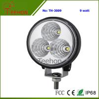China 9 Watt Round LED Working Light for Cars, SUV, Motorcycle and Bikes on sale