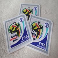China FIFA World Cup Heat Transfer Flocking Patches Multi - Color For Sportswear Decoration wholesale