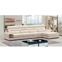 Buy cheap A843; L shape genuine leather sofa, modern home furniture,office furniture, from wholesalers